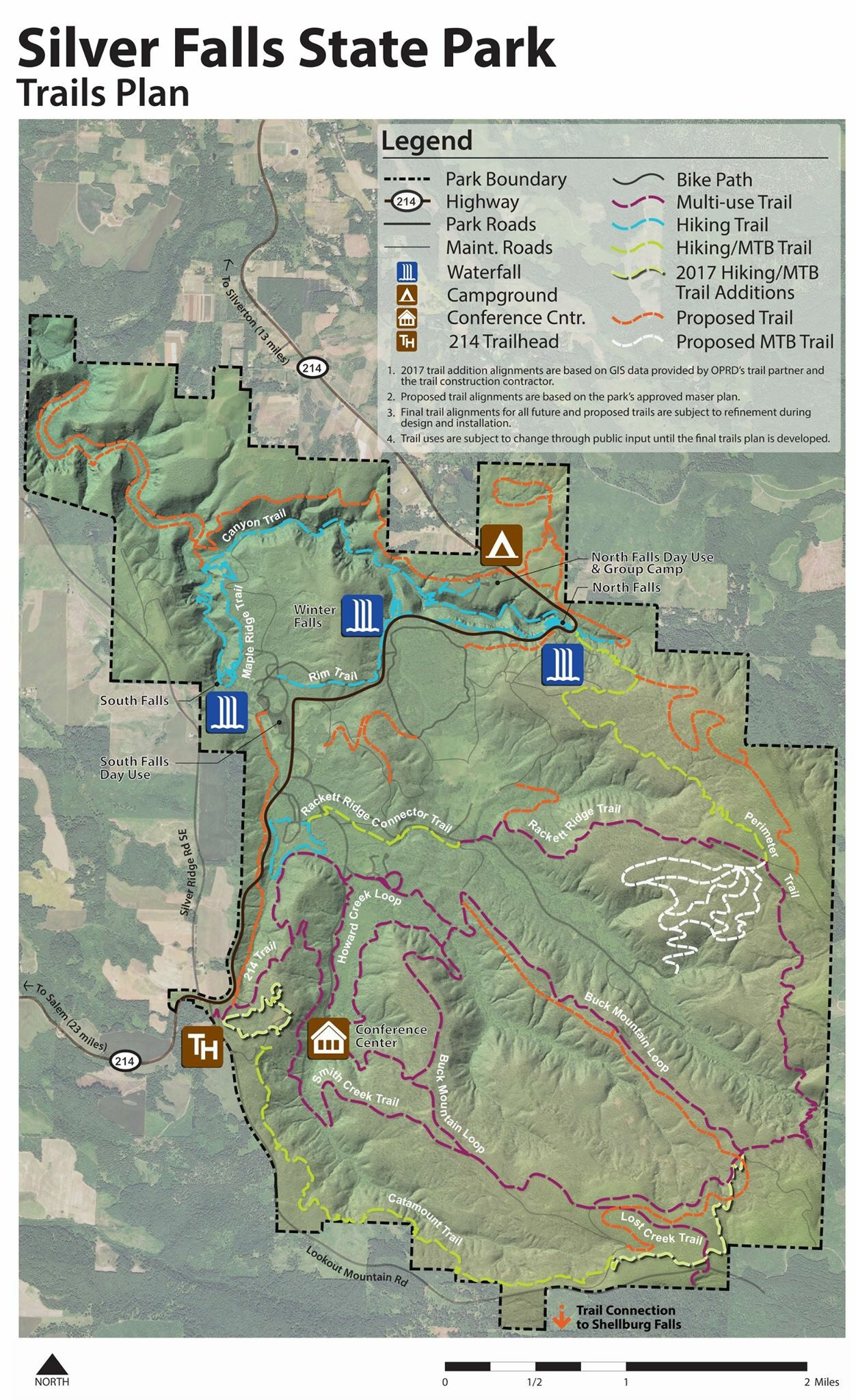 Silver Falls State Park Trails Public Meeting Tribe503 Com